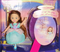 2006 Barbie in the 12 Dancing Princesses Princess Janessa Doll (2) (Paul BarbieTemptation) Tags: barbie 12 dancing princesses kelly doll 2006 fairytale ballet ballerina blue grimm