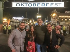 At Munchen's Oktoberfest 2016!