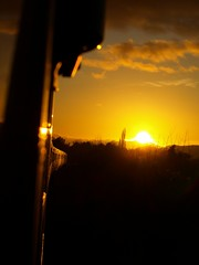 Worcestershire sunset (Oz_97) Tags: greatwesternrailway 43147 43138 worcestershire