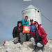 "Slovenia Shoue Bell '11, Scott Rickard '12, Kyle Sporrer '12 and Will Gordon '13 climbed Mt. Triglav, the tallest point in the Julian Alps. • <a style=""font-size:0.8em;"" href=""http://www.flickr.com/photos/49650603@N07/13929247989/"" target=""_blank"">View on Flickr</a>"
