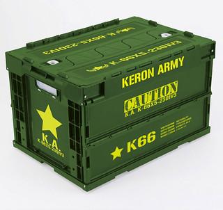 K隆星人軍備品!玩具人必備神器~ KERORO 軍曹折疊收納箱是也~