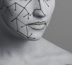 Makeup Robot (Quentin Bacchus Photography) Tags: girls portrait white studio photography nikon photographer natural body swiss femme makeup lips made pictish d600 pictureofday