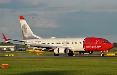 LN-NOX (robert55012) Tags: edinburgh air norwegian shuttle boeing edi 737 egph 37818 christiankrogh 7378jp lnnox