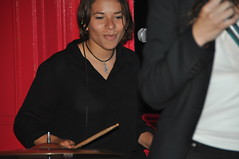 DSC_3369 Luz and La Explosion  Live at Charlie Wrights Music Lounge with Lya Drummer (photographer695) Tags: music luz la with live lounge explosion charlie drummer wrights lya