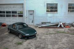 Miata Ghost Town (Christian J. Zanetich) Tags: lotus seats 1997 miata roadster eunos clubroadster mediton