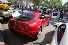Alfa_Romeo_8C_2008_Competizione_RSideRear_CECF_9April2011 (Valder137) Tags: auto car festival orlando florida celebration exotic romeo alpha 2008 automobiles 8c competezione