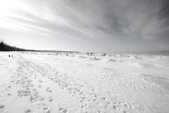 North (K. R. Jackson) Tags: winter lake snow cabin superior upnorth wi lakesuperior cornucopia coreyandjoscabin