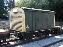 4039 Ecclesbourne Valley Railway 160713 (Dan86401) Tags: wagon br freight vea evr 4039 ecclesbournevalleyrailway ventilatedvan ventvan vanwide