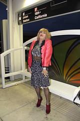 new96225-IMG_6723t (Misscherieamor) Tags: tv boots feminine cd tgirl transgender mature trainstation sissy tranny transvestite crossdress ts gurl tg travestis travesti travestie m2f xdresser tgurl slipshowing satinblouse