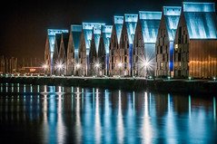 Port de Dunkerque un soir de juillet