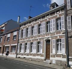 Amiens - Rue Dufour Maison (gueguette80 ... non voyant pour une durée indéte) Tags: house architecture maisons amiens picardie 2014 somme