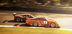 Overtaking on Druids Bend in the GT Cup (Ben Shuttleworth) Tags: motion blur cars cup car race speed corner bend fast racing hatch gt brands druids 2014 cornering blancpain