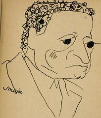 """Image from page 58 of """"Panoptikuma : irók és hirlapirók karrikaturái"""" (1913)"""