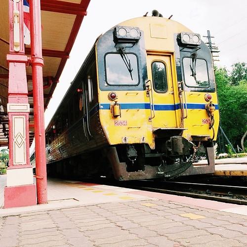 Hua Hin Railway Station / Thailand