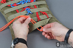 Knot of the Week: Modern Samurai Armor Knot Work with the Dragonfly Knot (ITS Tactical) Tags: japanese diy knot armor samurai knots knottying knotwork paracord platecarrier dragonflyknot knotoftheweek agemaki 550paracord 500cord