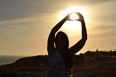 DSC_0357 (InesHastings) Tags: ocean girls friends sunset sea summer sun love beach night lights nikon hug kiss like follow 2014