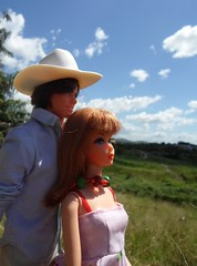 Barbie and Ken enjoying the nature (doll4life14) Tags: nature vintage hair living mod doll farm country ken barbie retro 1970 1973