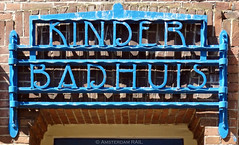 Kinderbadhuis / Bathhouse for children (Amsterdam RAIL) Tags: amsterdam letters artnouveau castiron lettering spaarndammerbuurt amsterdamwest gietijzer kinderbadhuis