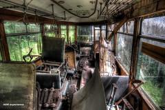 lost tram (Michis Bilder) Tags: lost place tram urbanexploration hdr urbex lostplace