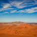Small mountain range in the Namib desert, Namibia