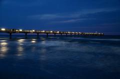 the Boltenhagen seabridge (BildBau by Alex) Tags: bridge nikon wasser brcke ostsee nachtaufnahme seabridge seebrcke boltenhagen nikkor18105mm d5100