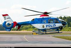 SE-HPU Eurocopter EC135 P2 Rikspolisstyrelsen (Swedish National Police) (Andreas Eriksson - VstPic) Tags: police swedish national after 944 p2 refuel departing eurocopter ec135 polisen sehpu rikspolisstyrelsen