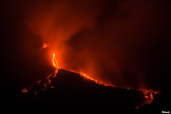Etna eruption 13.8.2014 (Rianetna) Tags: volcano lava etna eruption vulcano lavaflow colatalavica etnaeruption2014