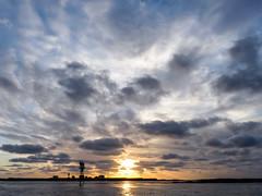 Island of Kya (jarnasen) Tags: sun lighthouse seascape norway clouds norge setting kya fyr settingsun solnedgng jarnasen