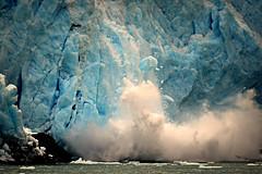 Watch Out Below! (Luv Duck - Thanks for 15M Views!) Tags: calving blueice princewilliamsound glaciercalving blackstoneglacier icburg