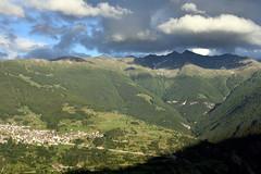 Clouds above Visperterminen (onno de wit) Tags: mountains alps schweiz switzerland suisse svizzera wallis valais swissalps zwitserland