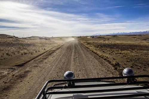 Carreteras desde el chasqui