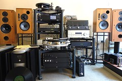 Clutter (bellaphon) Tags: se vinyl turntable system stereo bbc analogue audio hifi michell gyro loudspeakers ls59 ls36