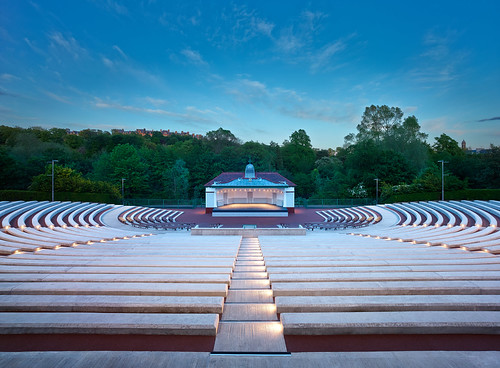 Kelvingrove Bandstand and Amphitheatre by Page  Park Architect