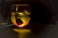 Tea (M$ingh.) Tags: lightpainting reflection water glass nikon tea livingroom midnight flare laser teapot concept conceptual silhoutte lightbeam floatation d7100 beginnerdigitalphotographychallengewinner storybookwinner nikond7100