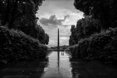 DSC01095 (FarewellFire) Tags: rain clouds memorial war wwii ukraine obelisk kiev unknownsoldier eternalflame eternalglorypark