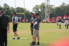 Mike Smith and Thomas Dimitroff (Thomson20192) Tags: atlanta camp training football branch tennessee nfl practice titans tennesseetitans atlantafalcons falcons flowery
