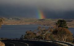 R A I N B O W (Mark B. Imagery ) Tags: winter lake color colour water canon landscape geotagged photography town rainbow highway flickr australia nsw snowymountains jindabyne lakejindabyne canon5dmarkiii kosciuszkoroad