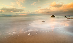 Silence (adam sowa) Tags: sunset sea beach landscape dusk poland polska baltic sands batyk