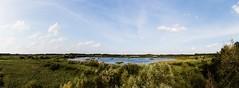 Rieselfelder (Tobi Sp) Tags: sky panorama clouds canon landscape eos natur himmel orte tamron seen landschaft münster weitwinkel rieselfelder vogelschutzgebiet 70d 1024mm rieselfeldermünster