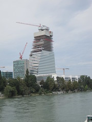 Neuer Roche-Turm (DanTheCam) Tags: basel turm roche hochhaus