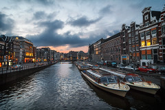 "Amstel sunset • <a style=""font-size:0.8em;"" href=""http://www.flickr.com/photos/92529237@N02/14886314913/"" target=""_blank"">View on Flickr</a>"
