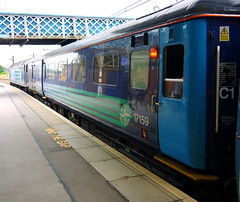 Doncaster (DarloRich2009) Tags: yorkshire mk2 mkii nda doncaster markii southyorkshire mark2 drs ecml bnfl 17159 marktwo directrailservices doncasterstation doncasterrailwaystation nucleardecommissioningauthority mark2coach britishnuclearfuelslimited