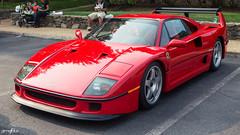 F40 (Anthony Stone - amsfoto) Tags: italy race italian twin ferrari racing exotic turbo lm supercar v8 f40 ultracar