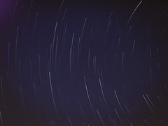 Star trail 3 (Asado De Cordero) Tags: night canon star noche trails trail estrellas startrails startrail a480