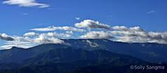Into The Himalayas II (Solly Ch. Sangma) Tags: india mountain bluesky hills himalaya darjeeling westbengal siliguri kurseong gorkhaland