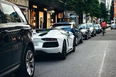 Bianco (Jordi James Hales) Tags: slr london cars car photography rich lifestyle automotive ferrari harrods mclaren porsche audi bugatti 3000 lamborghini scuderia supercar gumball oakley p1 gallardo supercars veyron millionaire f40 r8 f12 pagani berlinetta 722 huayra hypercar laferrari aventador