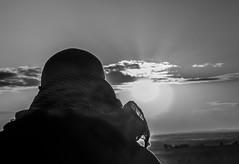 Into the Sahara... (+Pattycake+) Tags: bw sahara northafrica camelride