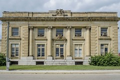 Zanesville Post Office (1905) (aj-mate_ photography) Tags: city ohio abandoned architecture office post ivy historic approved zanesville beauxarts d5100