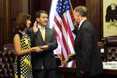 08-21-2014 Kelly Butler sworn in as new State Budget Officer