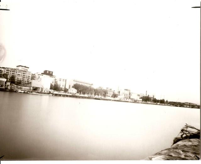 La Seine près de BFM - 2min de pose